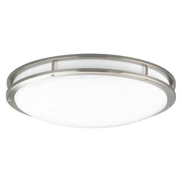 "PROGRESS LIGHTING LED 31"", One-Light Ctc, Nickel"