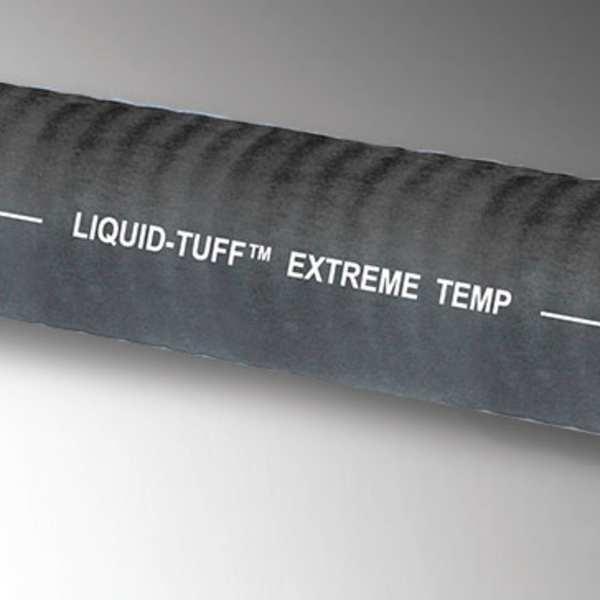 ZORO SELECT Liquid-Tight Conduit, 3/8 In x 50ft, Black