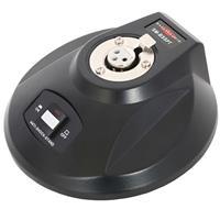 Galaxy Audio Anti-Shock Gooseneck Mic Base with Push-To-Talk/Push-To-Lock Switch