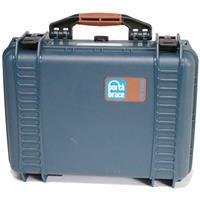 Porta Brace PB-2400F Hard Case with Foam Interior, Break-Resistant, Blue